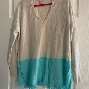 Lilly Pulitzer cashmere sweater L/XL